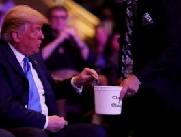 ترامب والتبرعات