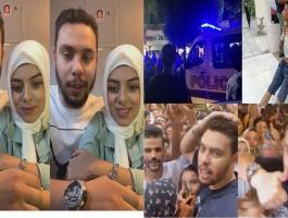 شاهدوا: إغماءات وفوضى وتحرش في افتتاح مطعم يوتيوبر مشهور بمصر والأمن يتدخل