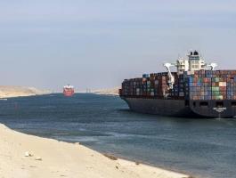 مصر: إيرادات قناة السويس تلامس نصف مليار دولار في شهر