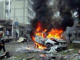 قتلى وجرحى في انفجار سيارتين شمالي سوريا.jpg