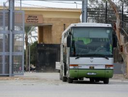وصول عدد من المواطنين لقطاع غزة عبر معبر رفح