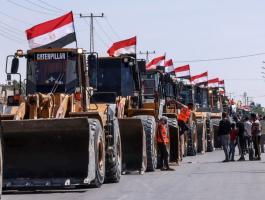 الجرافات المصرية في غزة