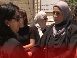 مراسم تشييع جثمان ابنة القيادية خالدة جرار في رام الله