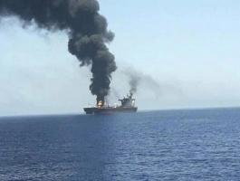 سفينة إسرائيلية تتعرض لهجوم قبالة سلطنة عمان