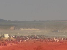 مهرجان جماهيري على حدود غزّة تزامناً مع ذكرى إحراق الأقصى
