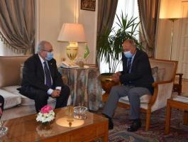 تفاصيل لقاء أبو الغيظ بوزير خارجية الجزائر