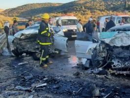 مصرع 17 شخصًا إثر حادث تصادم على الطريق الدائري في الجيزة بمصر