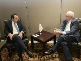 المالكي ووزير خارجية قبرص يوقعان مذكرة تفاهم لتعزيز التعاون التنموي.jpg