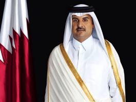 أمير قطر.