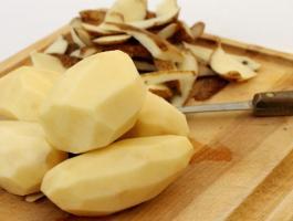 قشرة البطاطا