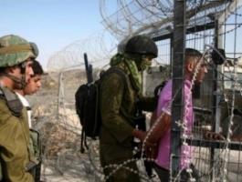 الاحتلال يعتقل شابًا اجتاز السياج شمال القطاع