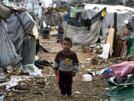 الفقر-فى-غزة