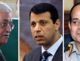 دحلان-عباس-السيسي-وكالة-خبر