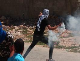 إصابة العشرات جراء قمع الاحتلال لمسيرة كفر قدوم الأسبوعية.jpg