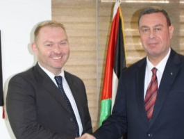 اللوح: يستقبل سفير نيوزيلندا بالقاهرة