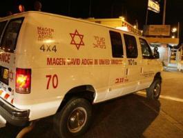إسعاف إسرائيلي.