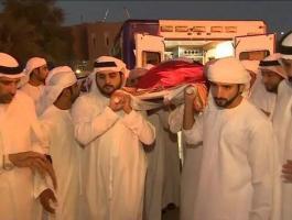 تشييع راشد بن محمد بن راشد آل مكتوم