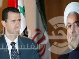 روحاني وبشار الاسد