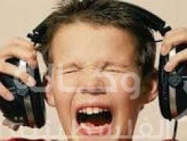 موسيقى صاخبة