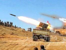 قصف  القوات العراقية في محافظة ديالي