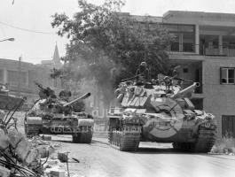 العدوان الاسرائيلي علي جنوب لبنان