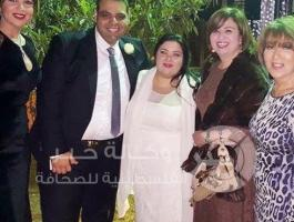 زفاف ابنة نور الشريف