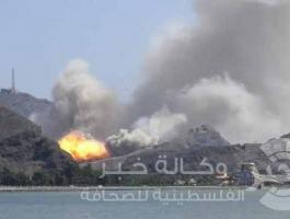 قصف يستهدف قاعدة الديلمي الجوية