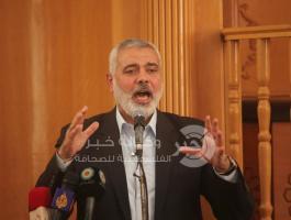 نائب رئيس المكتب السياسي - حركة حماس - اسماعيل هنية