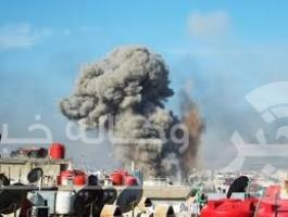 قصف فى العراق
