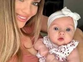 بالصور: أمريكية تتم حملها وتتبرع بأعضاء طفلتها!