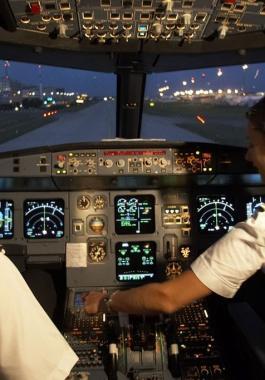 بالفيديو: طيار ينتحر بطريقة