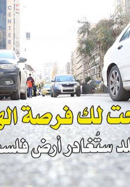 شاهد بالفيديو: لو أتيحت لك فرصة الهجرة من فلسطين.. إلى أي بلد ستُغادرها؟!