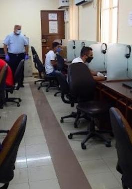 النقل بغزة: استئناف تقديم الاختبارات النظرية للسياقة
