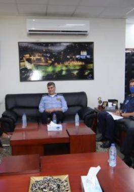 اللواء عطا الله يلتقي برئيسة بعثة الشرطة الأوروبية في فلسطين