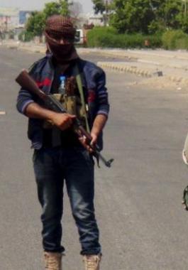 مسلحين حوثيون