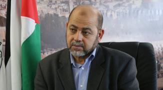 أبو مرزوق يُعقب على تصريحات ميلادنيوف بشأن الوحدة الفلسطينية