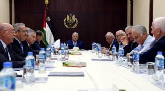 اجتماع مهم تعقده القيادة الفلسطينية اليوم يتبعه كلمة ملتفزة للرئيس