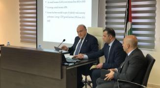 بشارة يُطلّع ممثلي المجتمع الدولي على الوضع المالي الفلسطيني بعد خصم أموال الضرائب