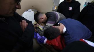 محدث بالصور: شهيد برصاص الاحتلال على حاجز