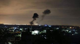 متابعة مستمرة: طائرات الاحتلال الحربية تُجدّد قصفها مواقع ومقار في غزّة