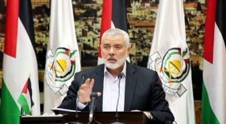 أول تعقيب من هنية على تهديدات الاحتلال بشنّ حرب في غزّة