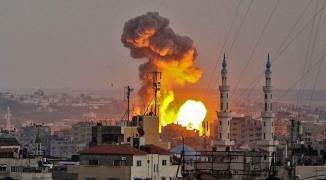 الاحتلال يبدأ عملية عسكرية في غزّة بقصف المواقع والأراضِ الزراعية