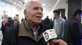 الأحمد يدعو فصائل منظمة التحرير لعدم الانخراط باتفاق التهدئة ويُشيد بعهد