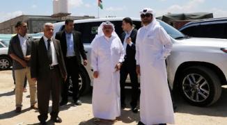 بالتفاصيل والأسماء: العمادي يصل غزّة على رأس وفد قطري
