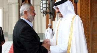 هنية وأمير قطر