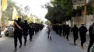 شاهد: مقاتلو الجناح العسكري لـ