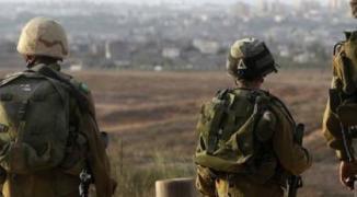 جيش الاحتلال على حدود غزة