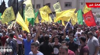 شاهد بالفيديو: الآلاف يُشيّعون جثمان شهيد الغربة تامر السلطان في غزّة
