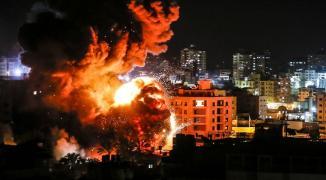 طائرات الاحتلال تشنّ غارات ضد أهداف تابعة للمقاومة في جنوب قطاع غزة