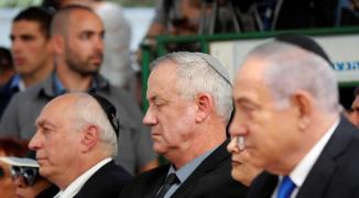 غانتس والرئيس الإسرائيلي